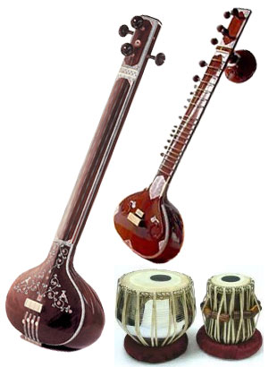 how to play tanpura